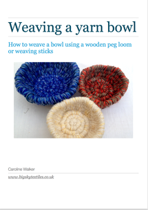 front cover of weaving e-booklet